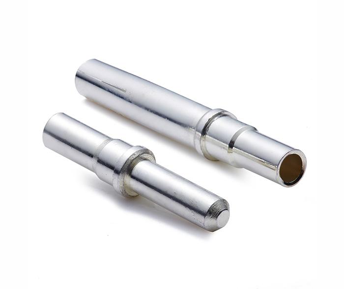 光伏连接器端子镀银公母PIN