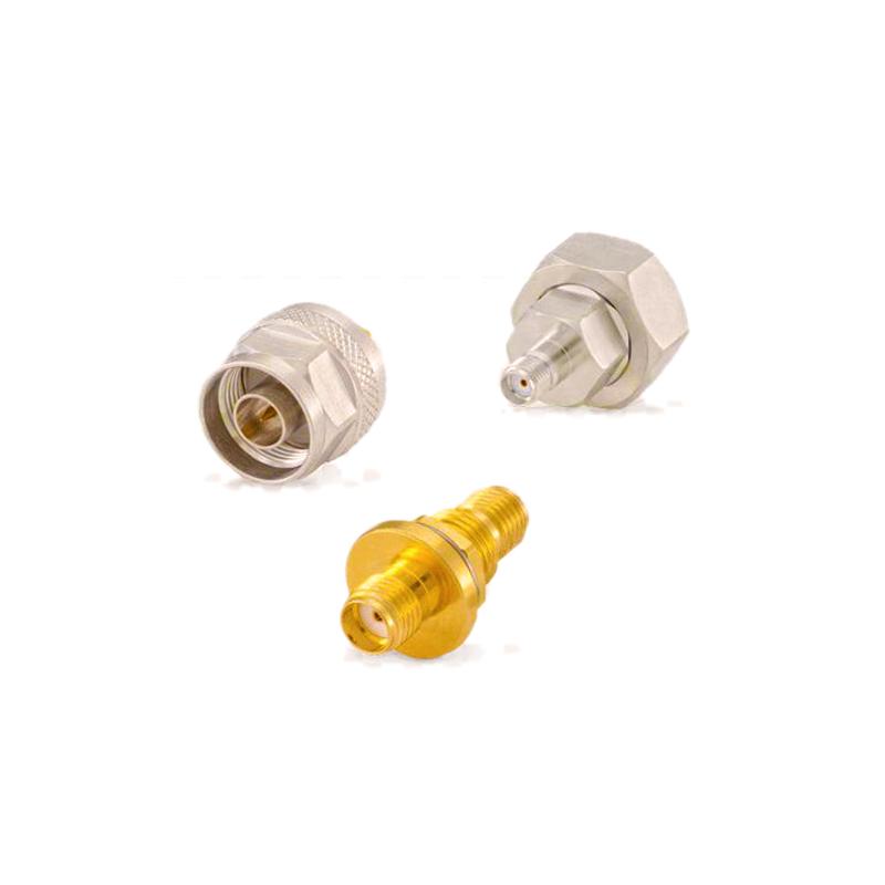 适配器汽车SMA连接器交流电源插头插座金属零部件加工定制