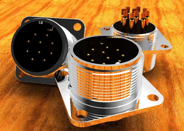 电连接器的主要类型-圆形连接器