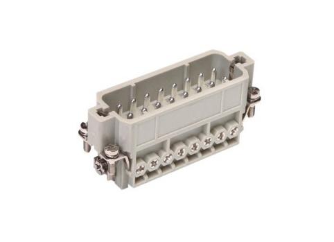 矩形电连接器的锁紧方式
