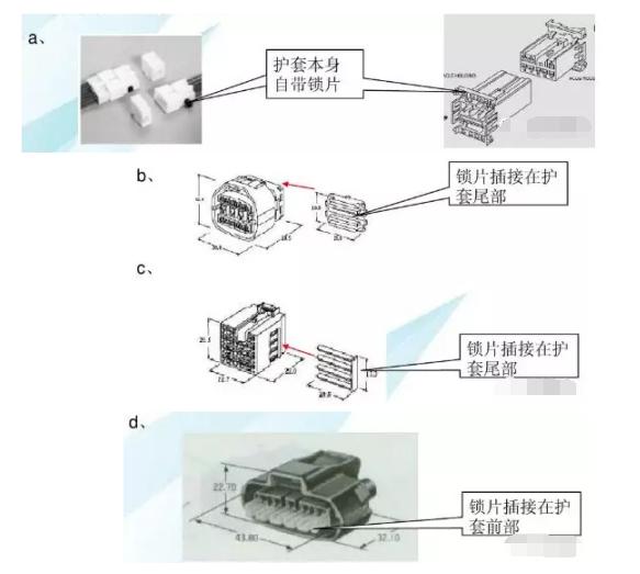 连接器接插件的结构形式
