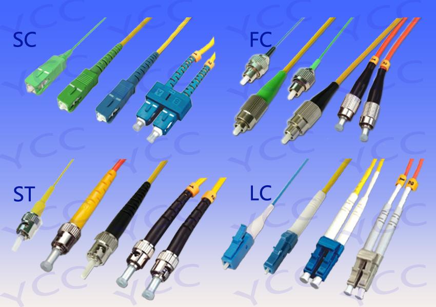 常见光纤线缆连接器接插件接头