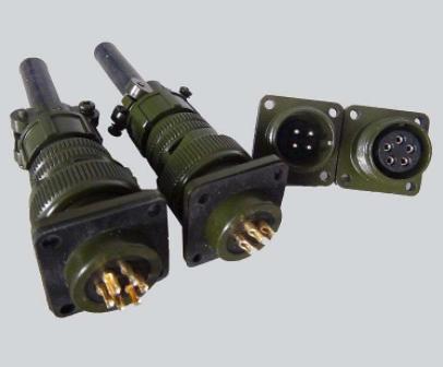 圆形电连接器接插件的基本结构