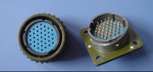 圆形连接器接插件的连接方式与锁紧方式