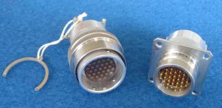 耐环境快速分离高密度小圆形电连接器接插件