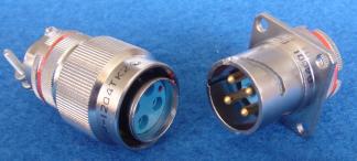 耐环境线簧孔圆形电连接器接插件