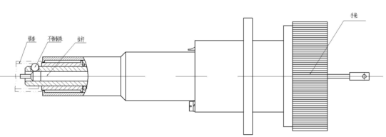 军用分离脱落电连接器接插件的连接和锁紧机构
